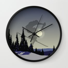 Touch The Morning Sun - Square | DopeyArt Wall Clock