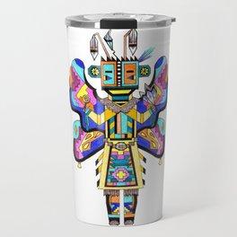 Kachina Butterfly 4 Travel Mug