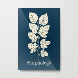 Morphology Botanical Plants Graphics Metal Print