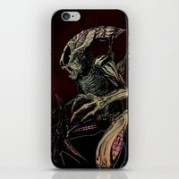 xenomorph iPhone & iPod Skins featuring Alien (xenomorph) by Woorinara Kim