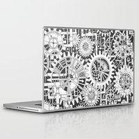 steampunk Laptop & iPad Skins featuring Steampunk by Squidoodle