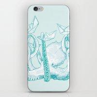 kraken iPhone & iPod Skins featuring Kraken by Badaro