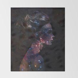 Galaxy Eyes Throw Blanket