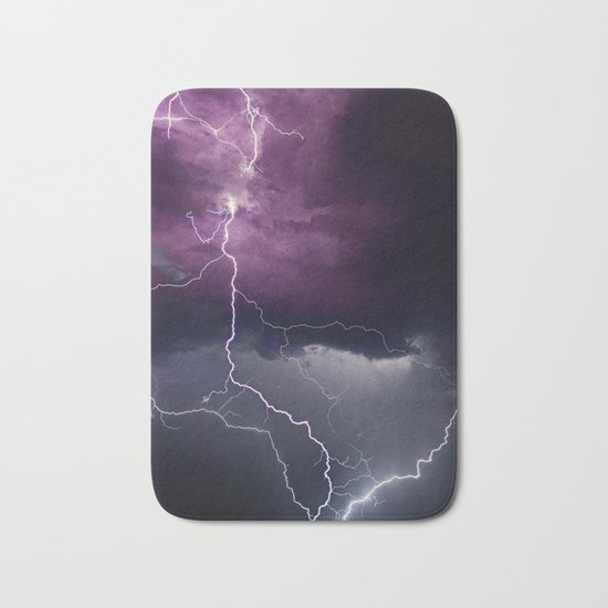 Lightning Parallel Bath Mat