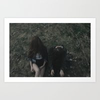 grunge Art Prints featuring Grunge by Michael Anthony