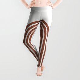 ARCOBALENO - OVER THE RAINBOW - Modern abstract art Leggings