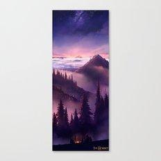 The Hobbit : Misty Mountain. Canvas Print