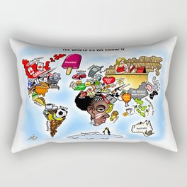 The World as we know it Rectangular Pillow