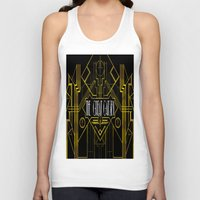 the great gatsby Tank Tops featuring The Great Gatsby by Ronoh Designs