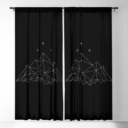 The Night Court insignia from A Court of Frost and Starlight Blackout Curtain