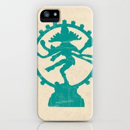 Dancing Shiva Art Print iPhone Case