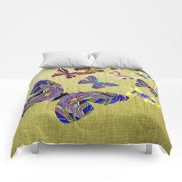 Flight Of The Butterflies Comforters