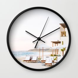 Sun-Kissed Vacations in Baja, Mexico Wall Clock