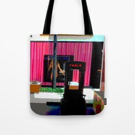 Interesting Juxtaposition Tote Bag