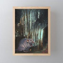 The Mad Scientist Framed Mini Art Print