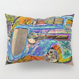 Hot Rod Pillow Sham
