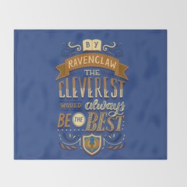 Cleverest Throw Blanket