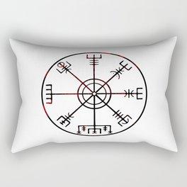 Vegvísir Rectangular Pillow