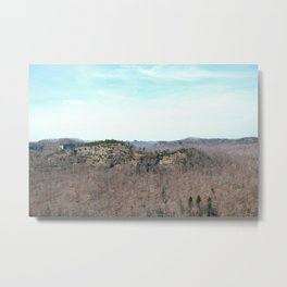View of Double Arch Trail, Red River Gorge, KY. 2015 Metal Print