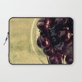 Bowl Of Cherries Modern Cottage Chic Country Art Bistro Art A446 Laptop Sleeve