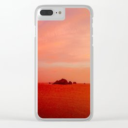 Drone Krabi Sunset, Thailand Clear iPhone Case
