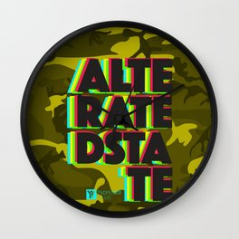 Alterated State Wall Clock