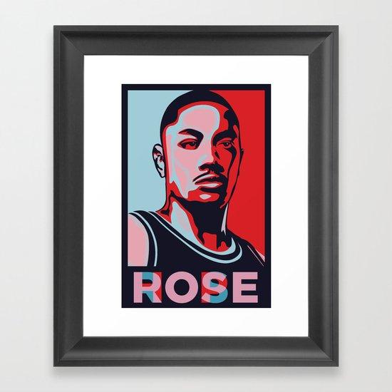 Rose is Hope Framed Art Print