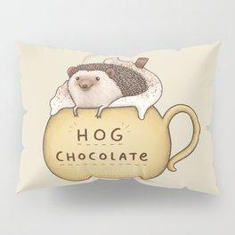Hog Chocolate Pillow Sham