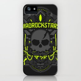 Mad is Dead iPhone Case
