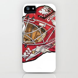 Rheaume Mask iPhone Case
