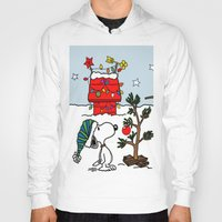 snoopy Hoodies featuring Snoopy 01 by tanduksapi