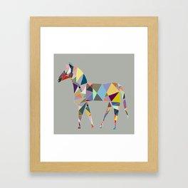 Eclectic Horse Framed Art Print