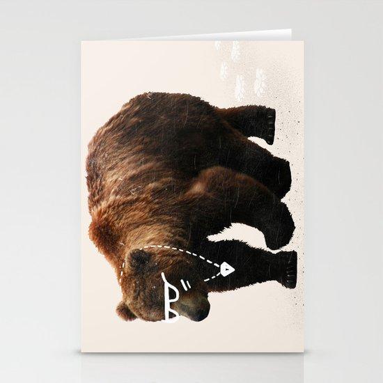 Kodiak Arrest Stationery Cards