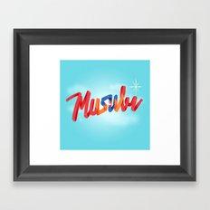 Musubi Framed Art Print