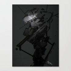 Darkfall Tech Zero Degree Canvas Print