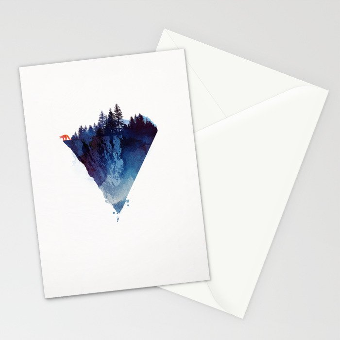 Near to the edge Stationery Cards