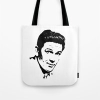 garfield Tote Bags featuring John Garfield Is Class by Stars Live Forever