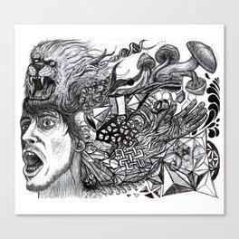 Unhinge  Canvas Print