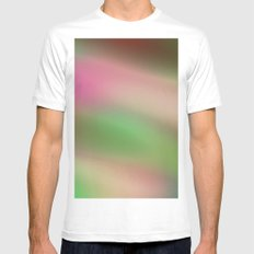 Fade M29 MEDIUM White Mens Fitted Tee
