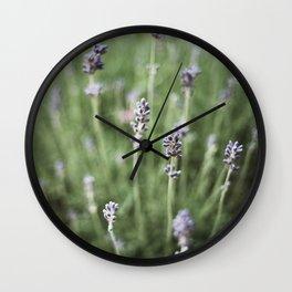Lavendels Wall Clock
