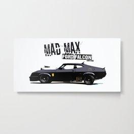 Mad Max Ford Falcon Metal Print