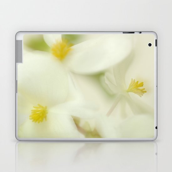 the dance of the flowers Laptop & iPad Skin