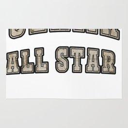 Ulama All Star Mesoamerican Ball Game Rug