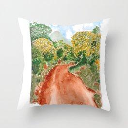 The Road to Rackoko Throw Pillow