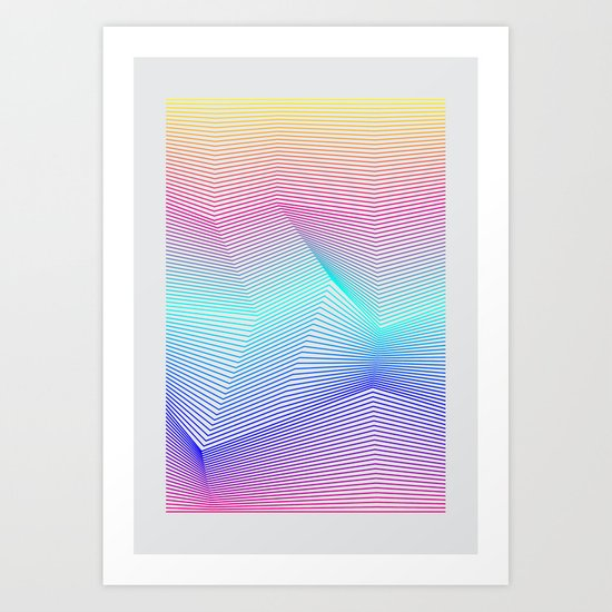 Miami Art Print By Three Of The Possessed Society6