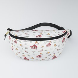 Winter Robins Fanny Pack