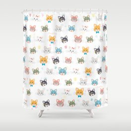Cat passion Shower Curtain