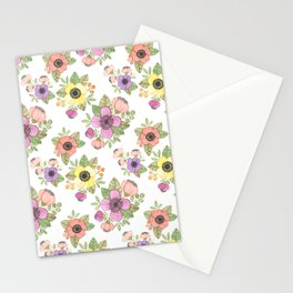 Yellow Bunch Watercolor Stationery Cards