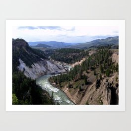 Valley View Art Print