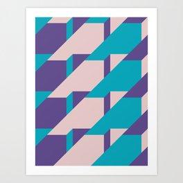 Abstract Glow #society6 #glow #pattern Art Print